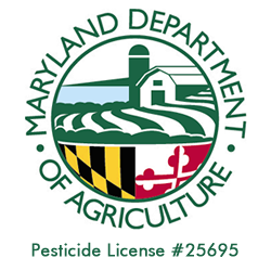 Maryland Department of Agriculture Pesticide License #25695
