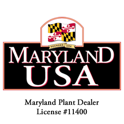 Maryland Plant Dealer License #11400
