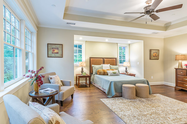 5607 Chesterbrook Road Bethesda, MD - master bedroom