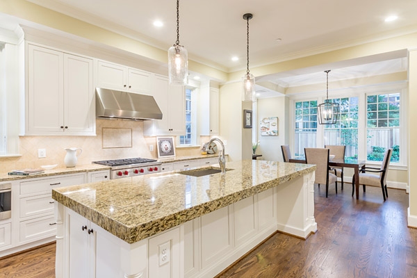 5607 Chesterbrook Road Bethesda, MD - kitchen island