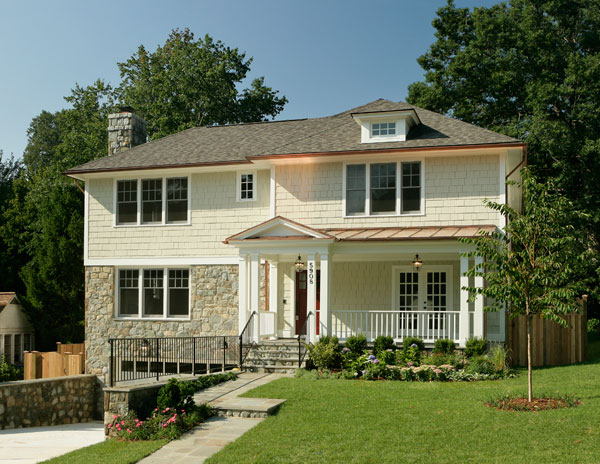 Home by Rasevic Construction in Glen Mar Park, Bethesda, MD