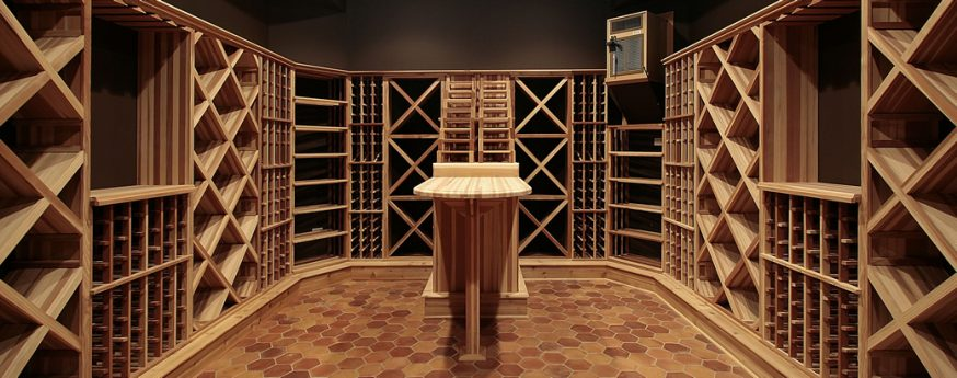 home wine cellar