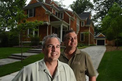 Paul Rasevic & Mark Rasevic of The Rasevic Companies - Photo from Washington Post