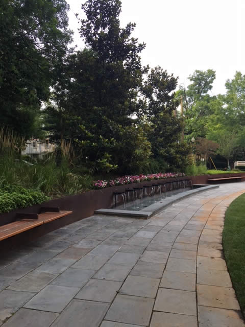 Chevy Point Condominium Landscaping Project by Rasevic Landscape Company in Bethesda, MD