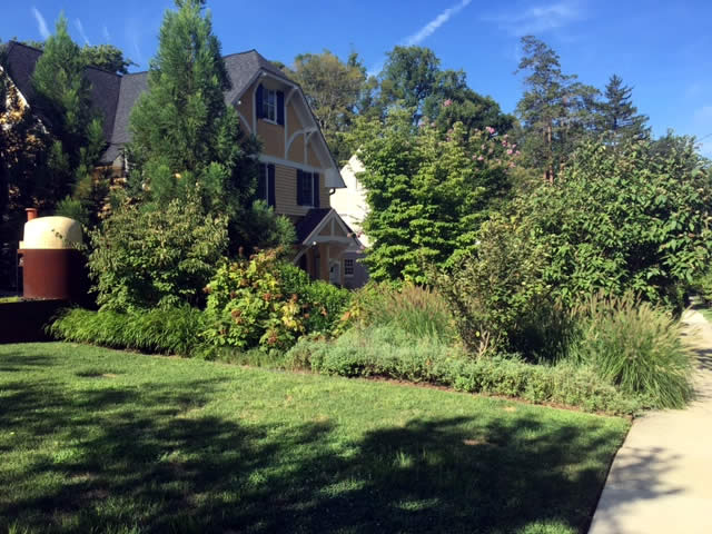 Chevy Chase Garden Landscaping Project by Rasevic Landscape Company in Bethesda, MD