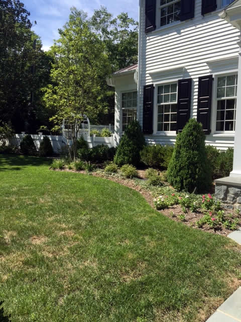 Bethesda Garden Landscaping Project by Rasevic Landscape Company in Bethesda, MD