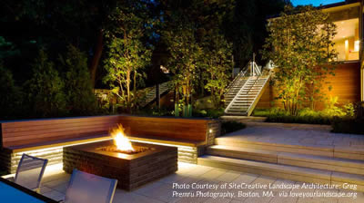 photo courtesy of sitecreative landscape architecture greg premru photography boston ma - Garden Lighting