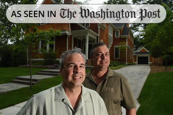 Paul Rasevic & Mark Rasevic of The Rasevic Companies - Photo from Washington Post