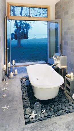 spa-like bathroom / wet room by Rasevic in Bethesda, MD - luxury bathroom trends