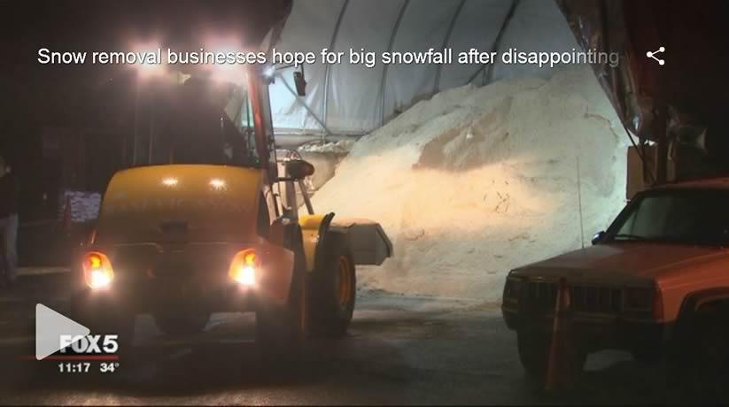 Fox 5 Rasevic Snow Removal Video